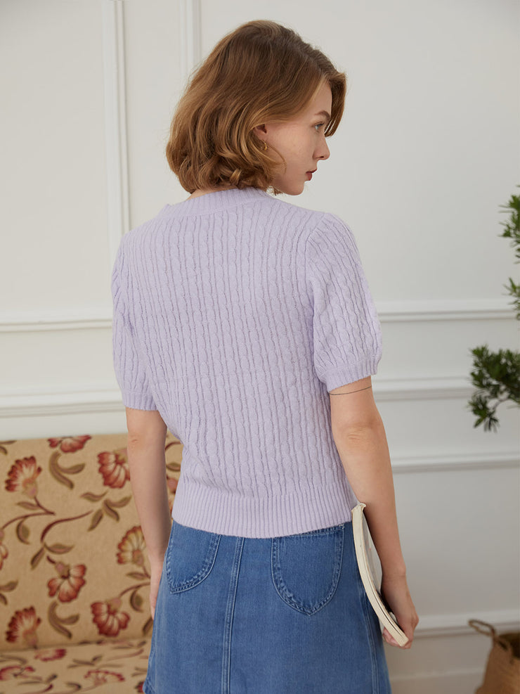 Vicky Short Sleeve Sweater