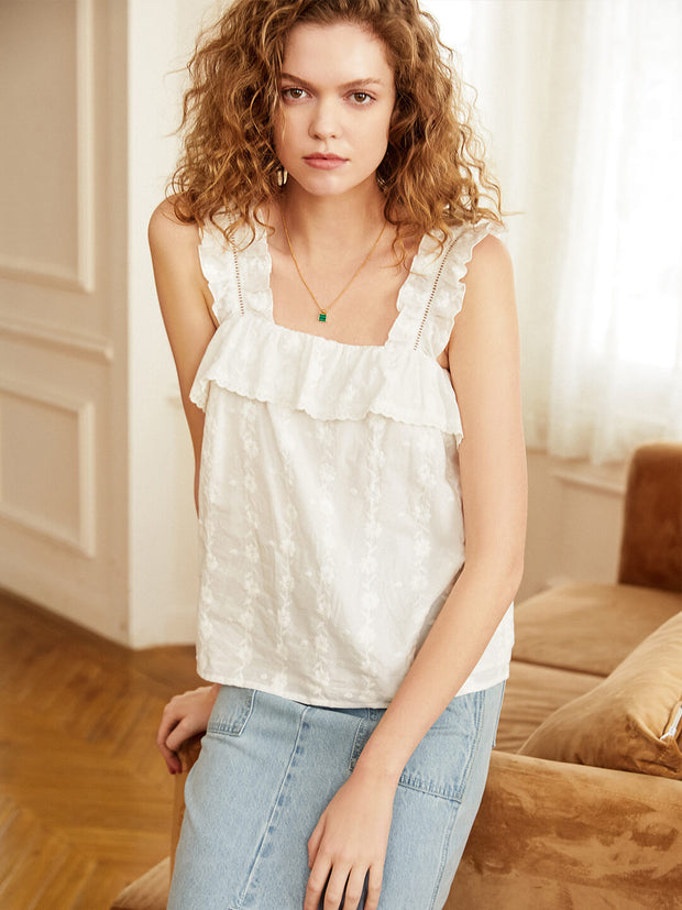 Blanche Cotton Tops