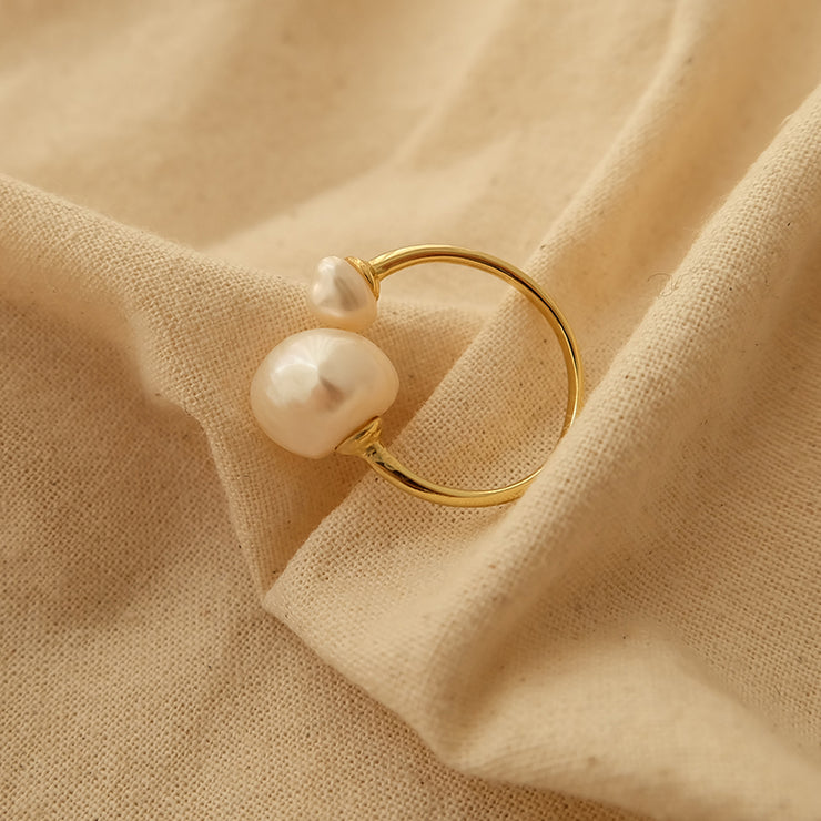 Double Bead Ring