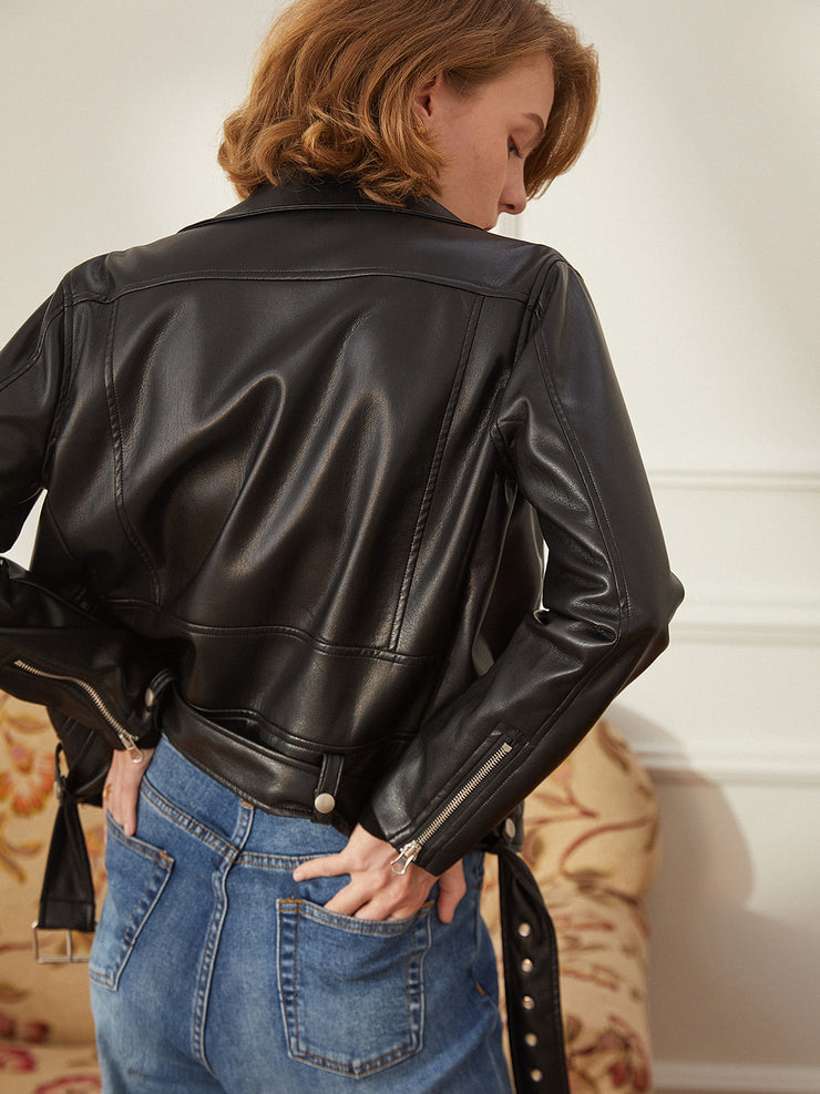 Aditi Leather Jacket