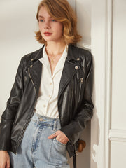Audrey Casual Leather Jacket