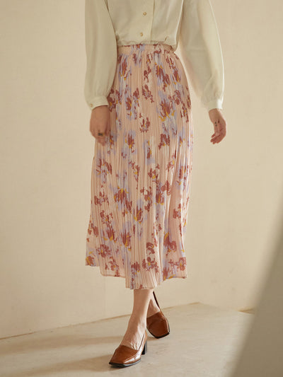 Mavis Printed Skirt/Simple Retro/22150