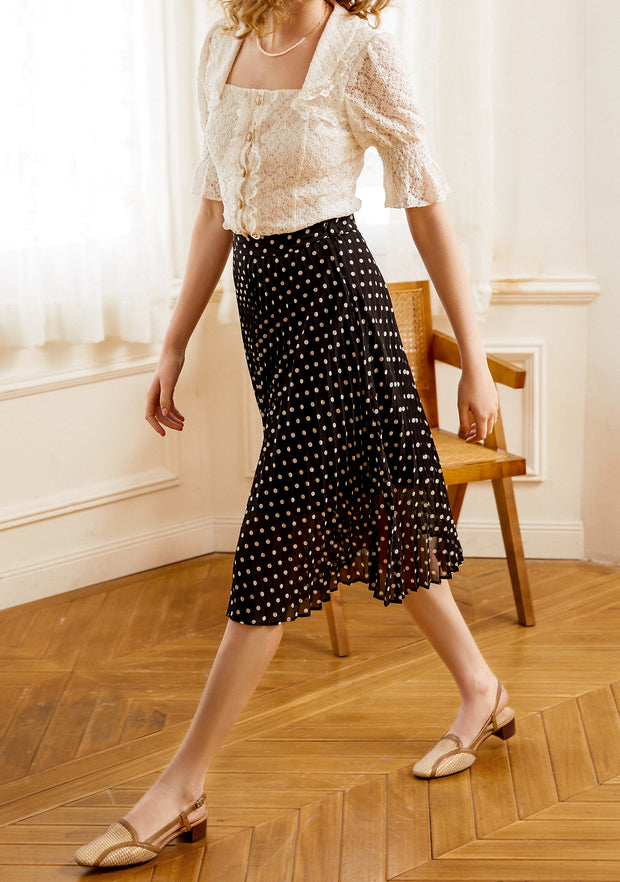 Angelina Antinode Pleated Skirt