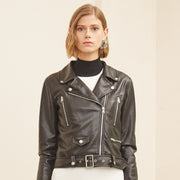 Laura Vegan Leather Jacket