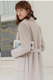 Adele Wool Coat - Cream