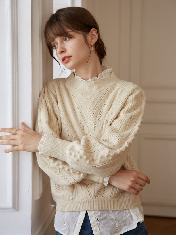 Aimee Sweater-Soft Beige