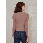 Camille Rabbit Fur Sweater