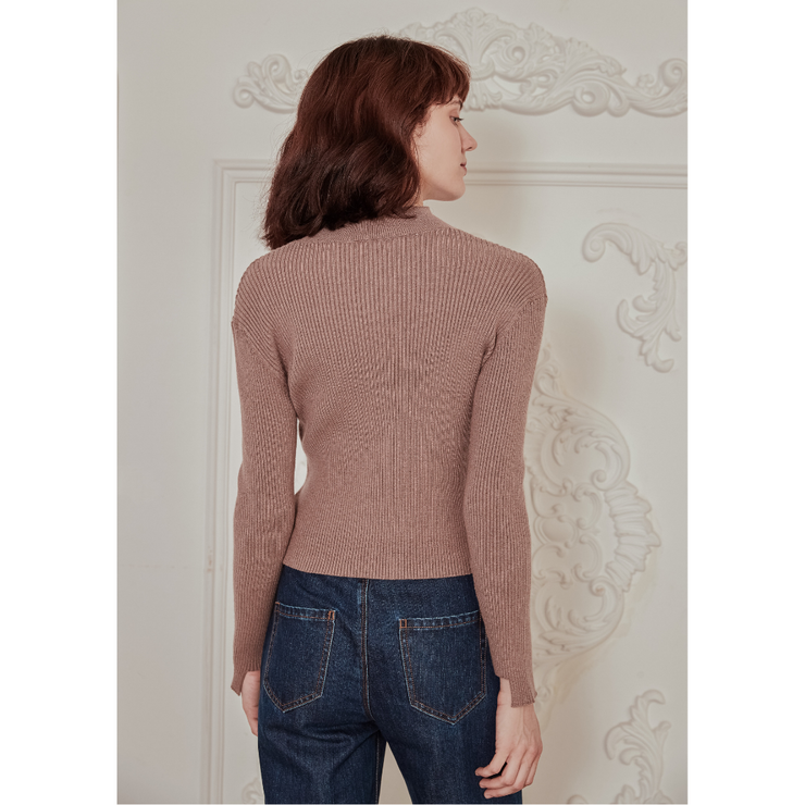 Camille Rabbit Hair Sweater
