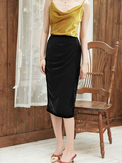 Trina Midi Skirt/simple retro/55017