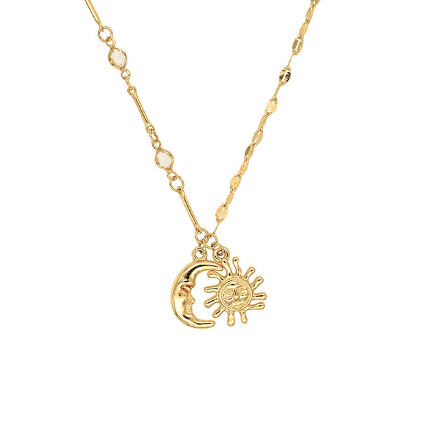 Rae Star Moon Necklace
