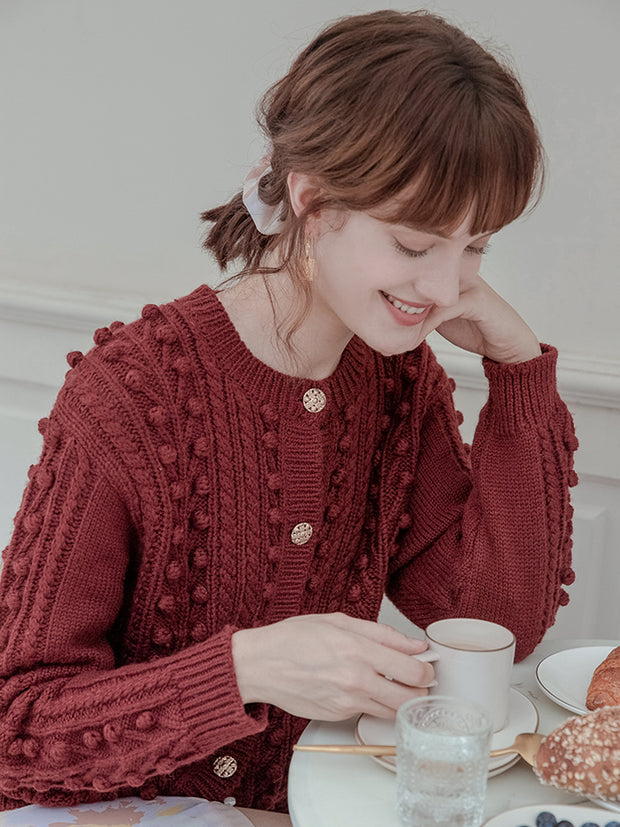 Verna Wool Cardigan