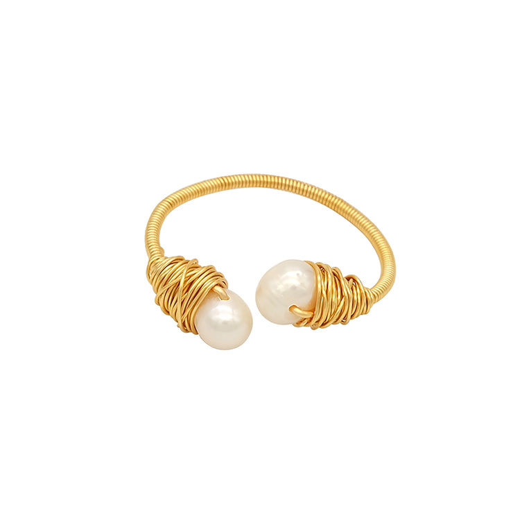 Xenia  Baroque Pearl Ring
