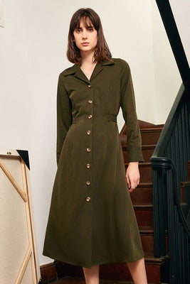 French Vintage Slim dress