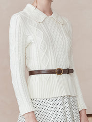 Susan Cross Hawse Sweater