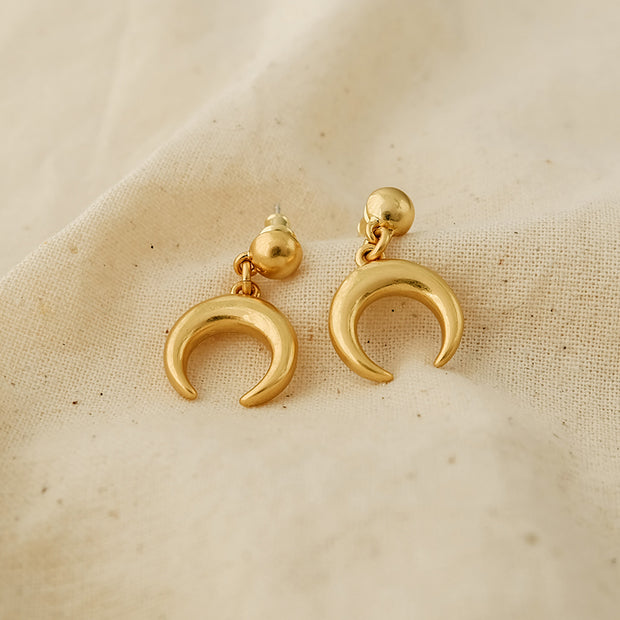 Page Crescent Earrings