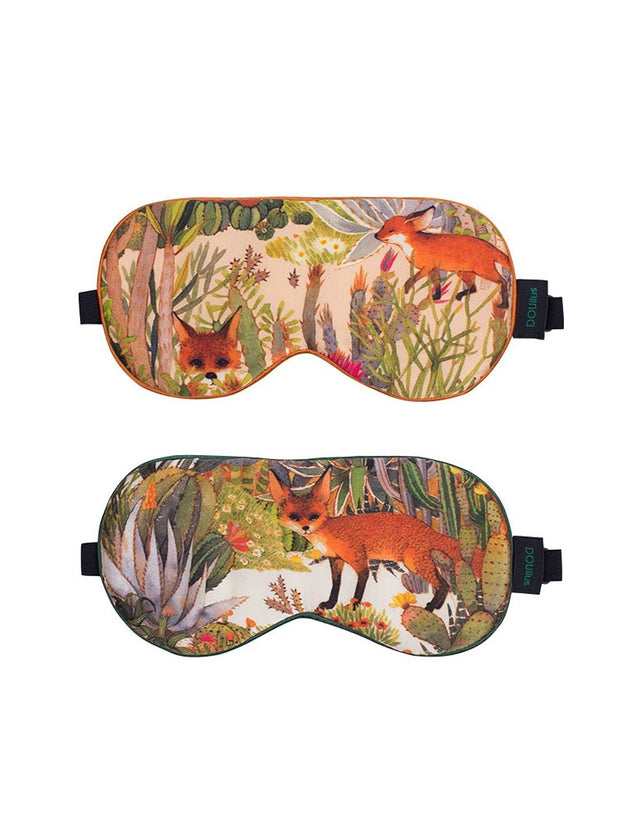 Chowxiaodou 16 Momme Fox Silk Satin Blindfold 20*10