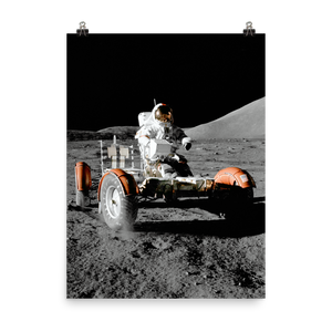 Apollo 17 Lunar Roving Vehicle (LRV) Poster