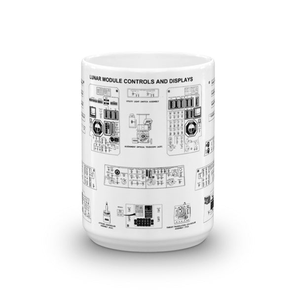 Lunar Module Contol Panel Coffee Mug