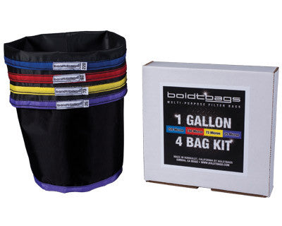 Boldtbags 1 Gallon 4 Bag Kit, [marijuana], [cannabis], [PetesPipeShop]
