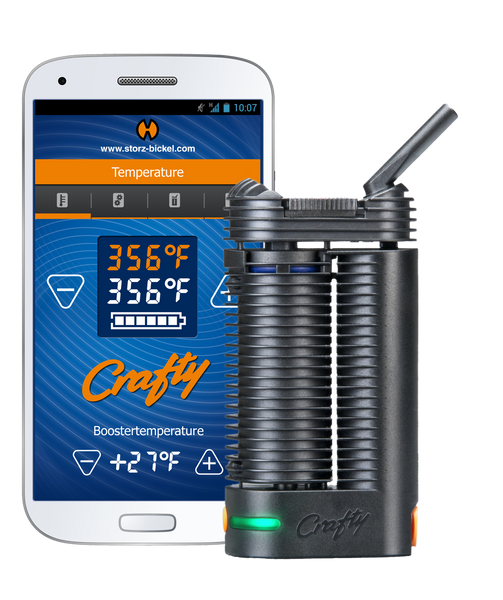 Crafty Portable App Vaporizer, [marijuana], [cannabis], [PetesPipeShop]