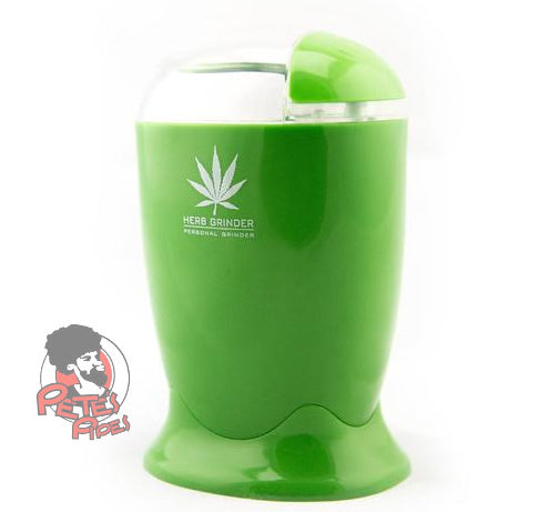 Electric Herb Grinder, [marijuana], [cannabis], [PetesPipeShop]