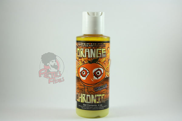 Orange Chronic Glass Cleaner, [marijuana], [cannabis], [PetesPipeShop]