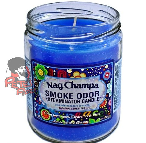 Nag Champa Smoke Odor Candle, [marijuana], [cannabis], [PetesPipeShop]