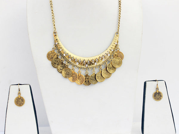 Classic Coin Band Necklace