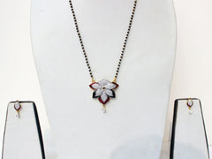Multicolour Alloy Mangalsutra