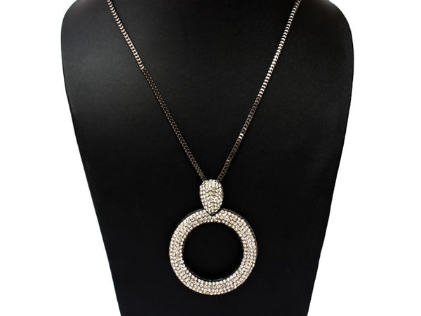 The Elegant Hollow-Circle Necklet!