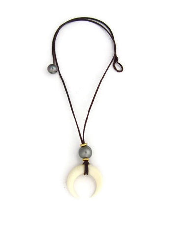 Moorea Pendant Drop Necklace