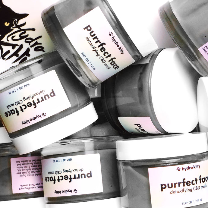 5 Reasons To Love Hydro Kitty's Purrfect Face Detoxifying CBD Creme Mask