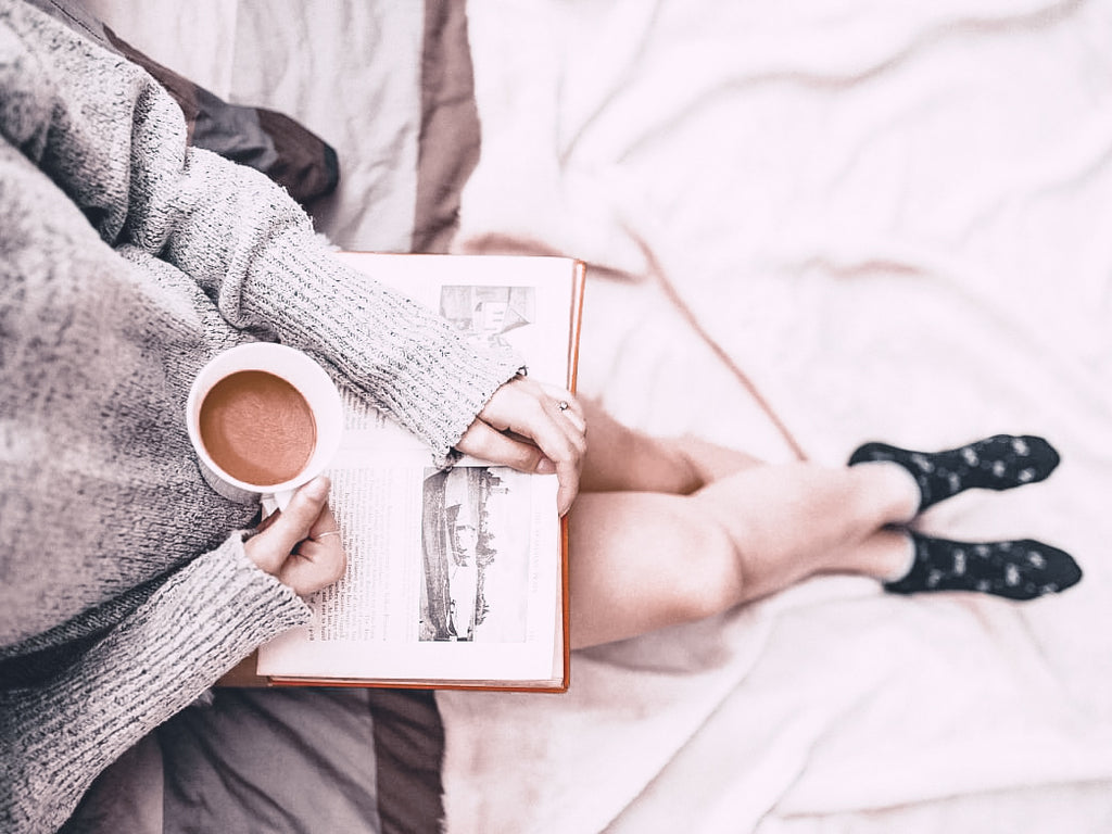 Image of Someone With a Book and Coffee - 5 Ways to Support Rest