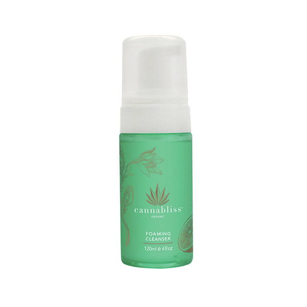 Cannabliss Organic Hemp Foaming Cleanser - Hydro Kitty CBD Skincare