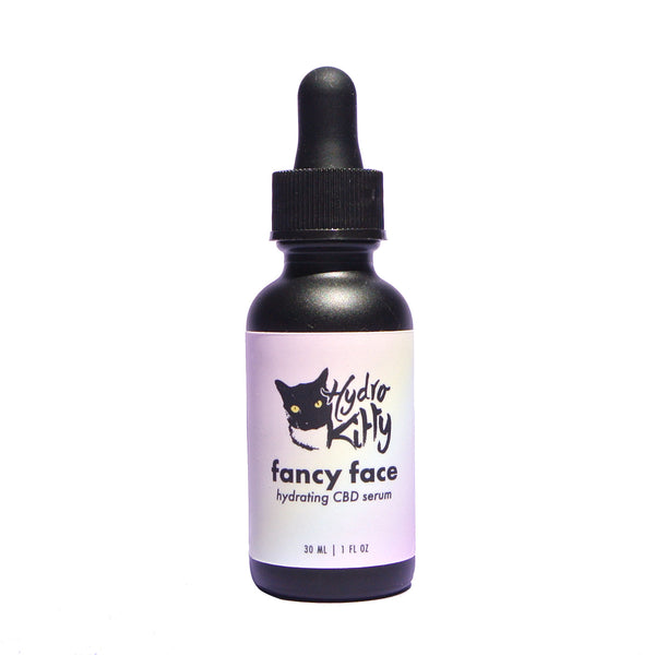Hydro Kitty Fancy Face Hydrating CBD Serum - Hydro Kitty CBD Skincare