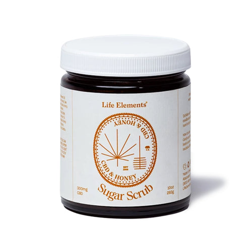 Life Elements NEW! CBD Sugar Scrub 10 oz - Hydro Kitty CBD Skincare