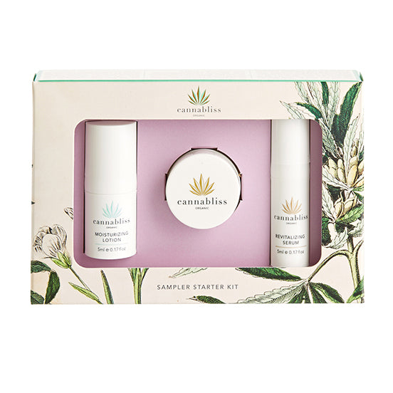 Cannabliss Organic Cannabliss Starter Kit - Hydro Kitty CBD Skincare