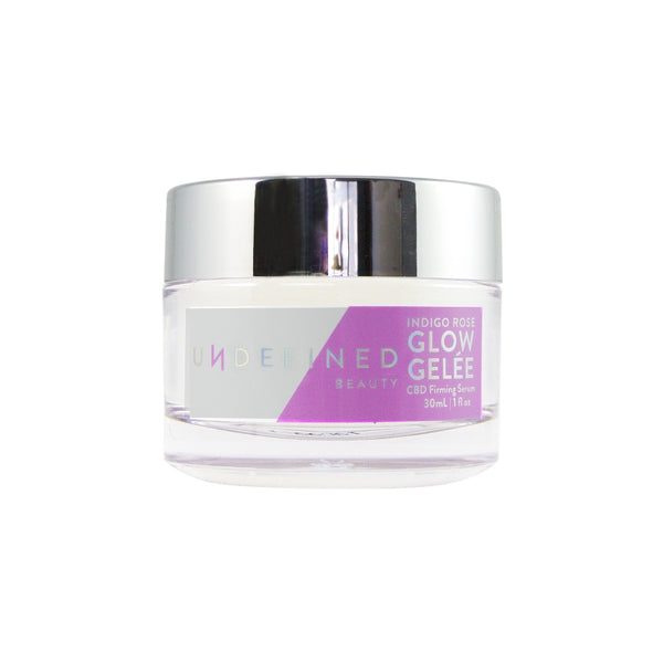 Undefined Beauty Indigo Rose Glow Gelée - Hydro Kitty CBD Skincare