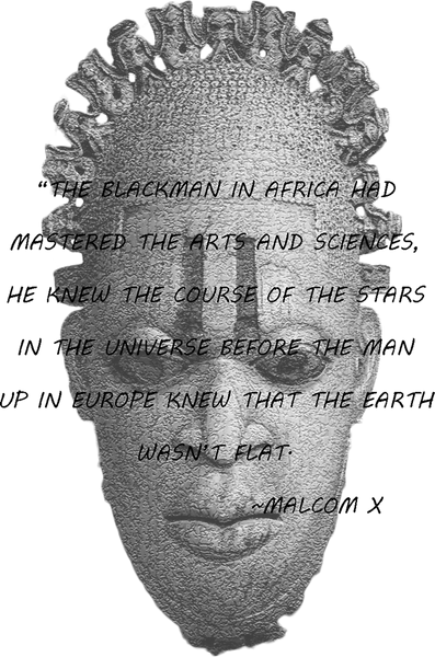 African Inspired Malcolm X Quote Shirt