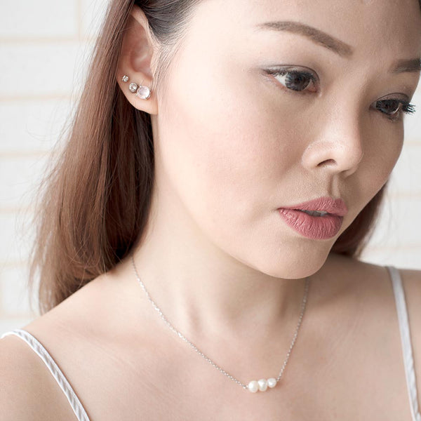 Tahiti Pearl Trilogy Necklace