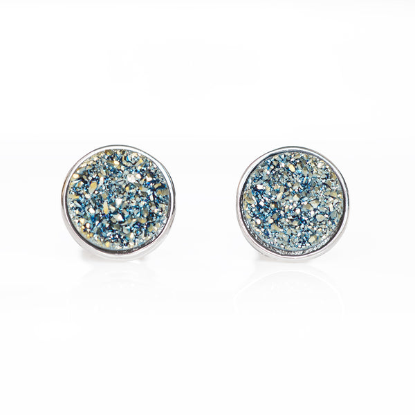 Côte d'Azur Drusy Stud Earrings