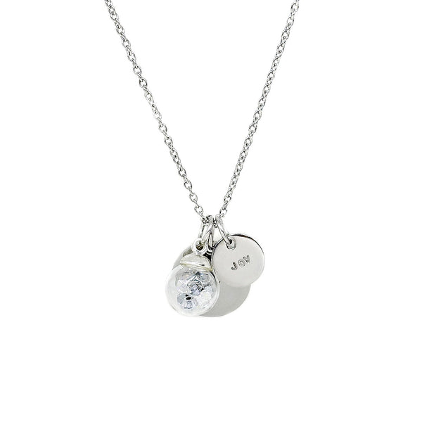 Venice Toggle Necklace in Silver