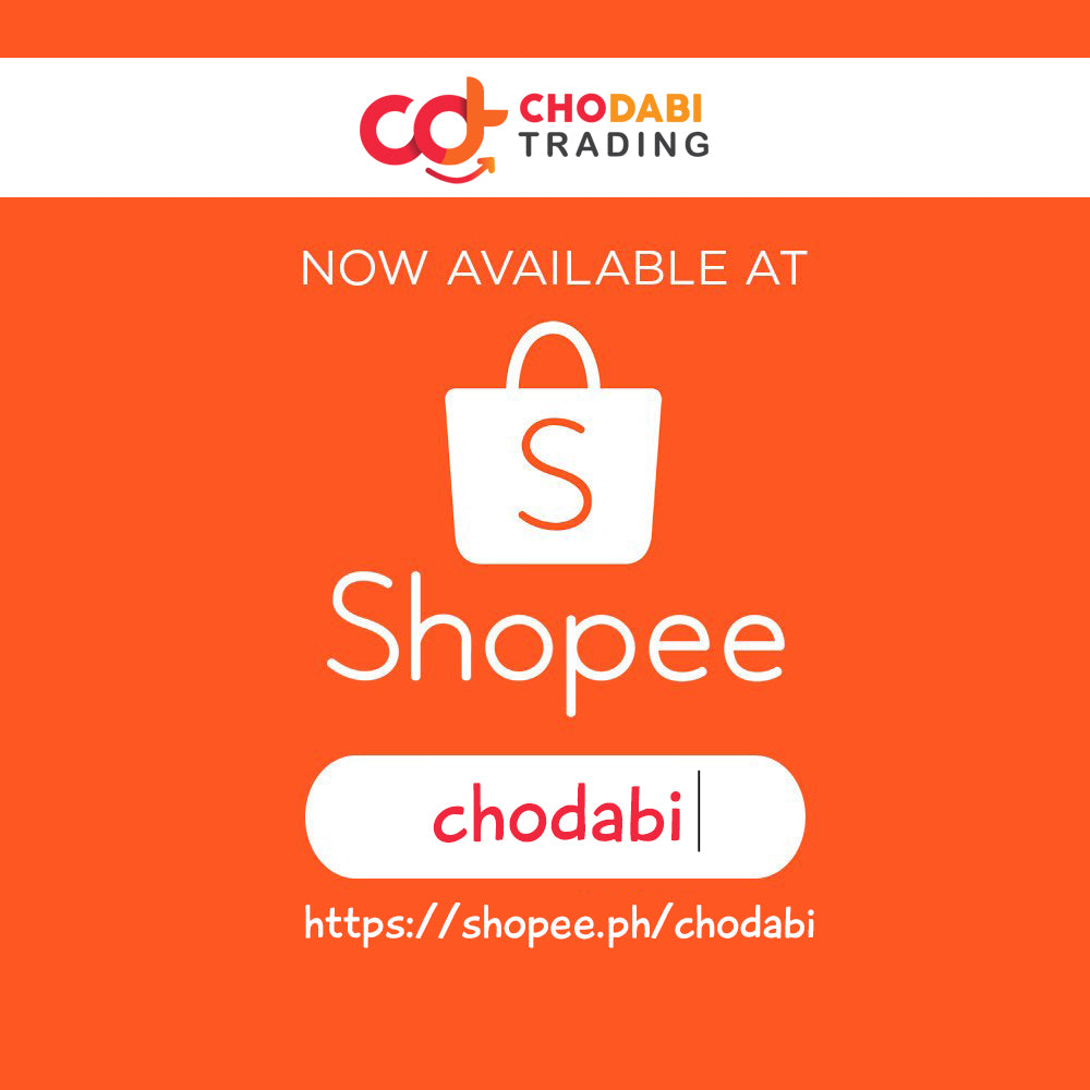 Follow Us on Shopee for our Onhand Items