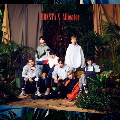 Monsta X 'Alligator' Japanese Album