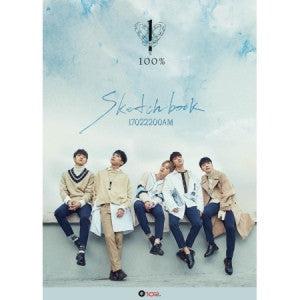 100% 4TH MINI ALBUM - SKETCHBOOK