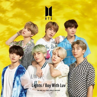 BTS 'Lights/ Boy With Luv' Japanese Album