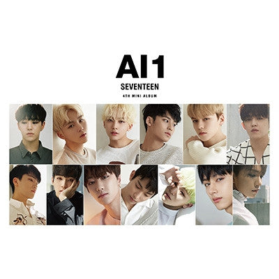 SEVENTEEN 4th Mini Album 'Al1' [Taiwan Limited Edition]