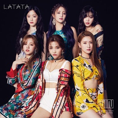 G-IDLE 'LATATA' Japanese Album