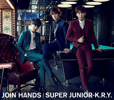 SUPERJUNIOR K.R.Y JOIN HANDS (Taiwan Pressure First Press Limited Edition)