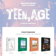 SEVENTEEN 2ND ALBUM 'TEEN AGE' (RANDOM VERSION)